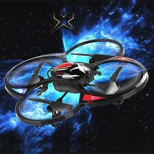 Helicopter T2.4GHz 4 CH RC Quadcopter Space Trek Defiant 6-Axis Gyro LED Lights