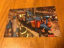 Vintage DISNEYLAND Postcard--Casey Jr. Train Traveling Through Storybook Land D4