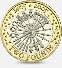 2005 £2 GUN POWDER PLOT GUY FAWKES REMEMBER TWO POUND COIN HUNT 11/32 RARE 2 zz