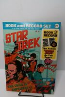 Star Trek The Crier in Emptiness Book & Record Set Power Records VF