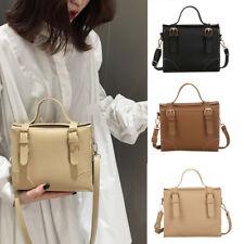 Mode Frauen Handtasche Ladies Leder Schultertasche Einfarbig Personality Taschen
