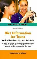 Diet Information for Teens: Health Tips About Diet And Nutrition : Inc-ExLibrary
