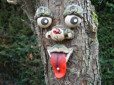 TREE FACE.  Garden decoration, ornament, statue, sculpture, Great gift ideas.