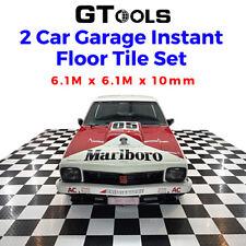 Floor Tiles Interlocking Garage Patio Workshop Warehouse Floating Mat Decks
