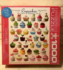 Cupcake 1000 Piece Puzzle by Eurographics FREE SHIPPING!