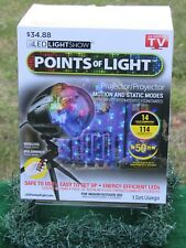 New LED Points Of Light Lightshow Projection Remote 114 Effects Indoor / Outdoor