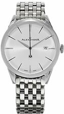Alexander Heroic Sophisticate Swiss Stainless Steel Mens Watch A911B-04
