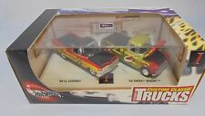 Mattel 100%Hot Wheels Petersen's Custom Classic Trucks Magazine 1:64 2 piece set