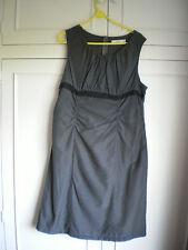 STEEL GREY/BLACK DRESS