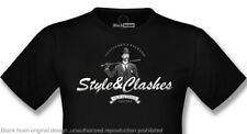 T-SHIRT CASUALS STYLE AND CLASHES | BLACK | S,M,L,XL,XXL