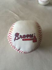 Atlanta Braves Team Logo Soft Baseball For Kids And Autographs