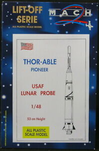 Mach 2 Models 1/48 THOR ABLE PIONEER Rocket U.S. Lunar Probe