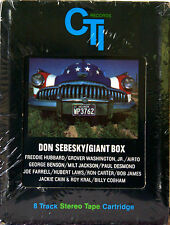 DON SEBESKY Giant Box (Double Play Album) NEW SEALED 8 TRACK CARTRIDGE