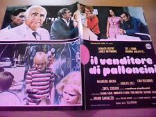 Fotobusta IL VENDITORE DI PALLONCINI 1975 Renato Cestiè, Marina Malfatti (3)