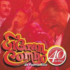 El Gran Combo 40 Aniversario De Puerto Rico En Vivo Salsa 2CDs BMG 2002