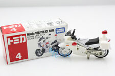 NEW Takara Tomica Tomy #4 Honda VFR Police Bike Scale 1:32 Diecast Toy Car Japan