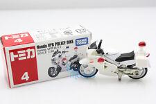 Takara Tomy Tomica 004 Honda VFR White Bike