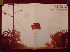Music Poster Promo Kinski - Cosy Moments