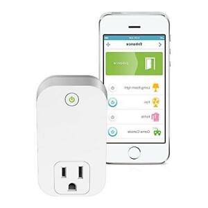 D-Link Smart Plug Wi-Fi On/Off Works with Amazon Alexa & Google (DSP-W110)