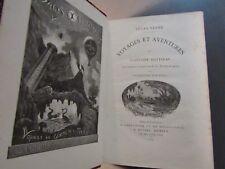 ÉDITION ORIGINALE-JULES VERNE-AVENTURES DU CAPITAINE HATTERAS-Relié-1866