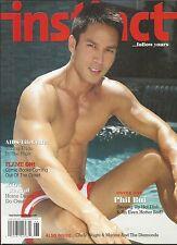 Instinct Gay Magazine Phil Bui Aids Life Cycle Home Decor Retro Revival Comics