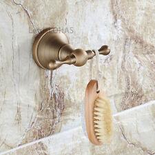 Antique Brass Bathroom Hardware Towel Hook Wall Mounted Door Coat Robe Hanger