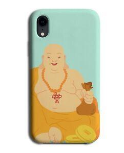 Calming Buddha Phone Case Cover Monk God Mediate Mediating Fat Belly Bald M754