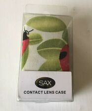 SAX Stylish Hard Contact Lens Case R/L Lens Holder