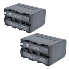 2PCS 6600mAh Li-ion Battery for SONY F970 NP-F960 F930 F950 F330 F550 F570 F750