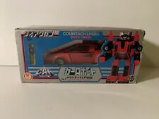 Pre-Transformers G1 Diaclone Red Sunstreaker Unused Takara MIB Countach Mint