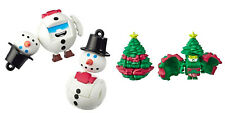 LOT Transformers BOTBOTS Series 3 MELTZ DOWN Snowman + WIZENGREEN Christmas Tree