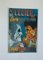 Legion #38 April 1992 DC Comic Lobo Vs. The Ice Man - Final Face-Off VF