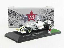 Voitures Formule 1 miniatures blancs 1:43