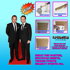 ANT DEC TV PRESENTER COMEDY DUO LIFE SIZE CELEBRITY SC582 CARDBOARD CUTOUT