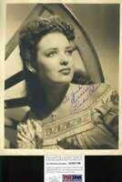 Linda Darnell Psa Dna Coa Hand Signed 8x10 Photo Autograph
