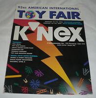 toy industry magazine ~ 93rd INTERNATIONAL TOY FAIR program February 1996