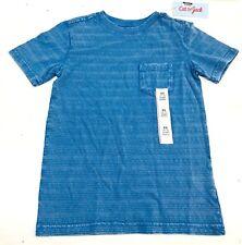 Boys' Textured Stripe Pocket T-Shirt - Cat & Jack  Bluebell XS, L, XL NEW