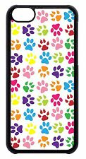 Paws Paw Cute Colorful Pattern Hard Back Case Cover New For Apple iPod 4 5 6