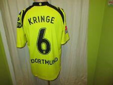 Borussia Dortmund Kappa 100 Jahre Jubiläum Trikot 2009 + Nr.6 Kringe Gr.XL TOP