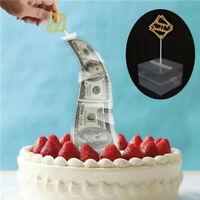 Cake ATM Happy Birthday Cake Topper Money Box Funny Cake ATM Happy Birthday uh