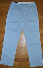 RALPH LAUREN MENS PANTS SLACKS CLASSIC FIT SOFT BLUE NEW W/TAGS $85 SZ 44B 34