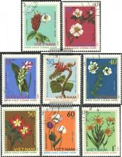 Vietnam 795-802 (complete issue) used 1975 Medicinal Plants