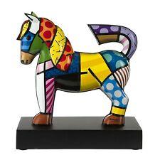 DANCER Goebel Skulptur PopArt 66451487 limitiert Edition Romero Britto Pferd