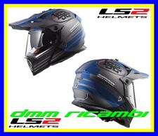 Casco Ls2 Pioneer Mx436 Quarterback White Re Tg. M