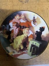 """""""A Toast To the Season"""" Coca-Cola Collector Plate from the Franklin Mint 1995"""