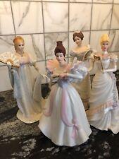 Lenox Classic Gala Figurines Ivory Grand Waltz, White House, First Waltz Masquer