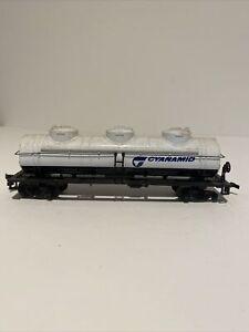 Bachmann Cyanamid tanker car Ho scale