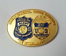 "Bureau of Alcohol, Tobacco & Firearms ""The Untouchables"" ATF Badge Lapel Pin"