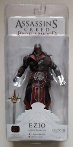 Assassin's Creed Ezio Ebony Assassin Action Figure - Player Select - NECA - New