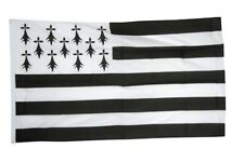 Fahne Frankreich Bretagne Flagge bretonische Hissflagge 90x150cm